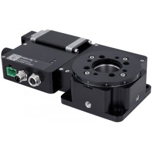Rotary Stages with Built-in Controllers and Motor Encoder