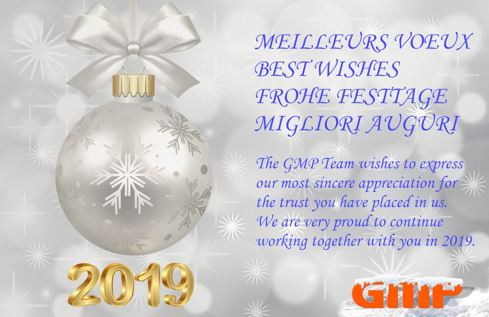 Happy New Year  - GMP SA