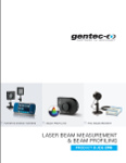 Gentec catalogue laser measurement 2015