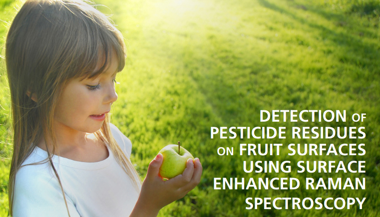 Detection of Pesticide Residues on Fruit Surfaces Using SERS