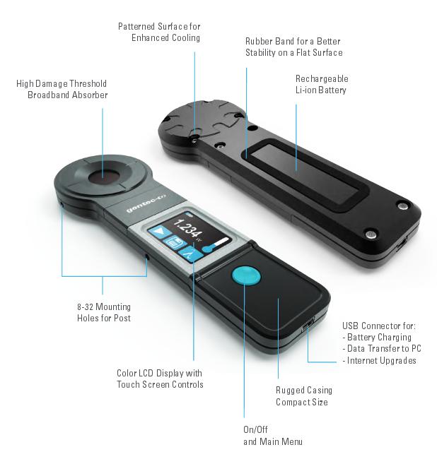 Handheld Laser Power Meters : Handheld laser power meter pronto up to watts