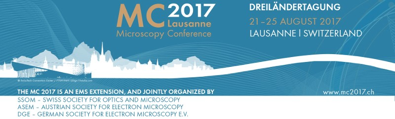 Microscopy conference 2017 - Lausanne